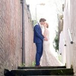 Bride-and-Groom-in-Alley