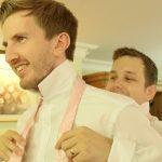 Wedding prep, groom