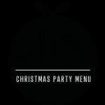 Belle Epoque Christmas Party Menu