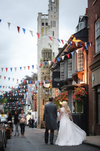 Wedding in Knutsford