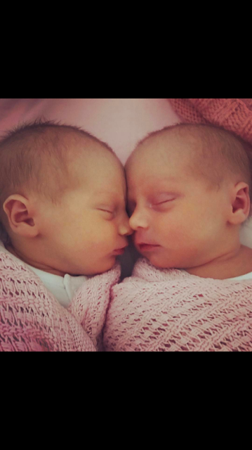 Twins for gareth and charlotte
