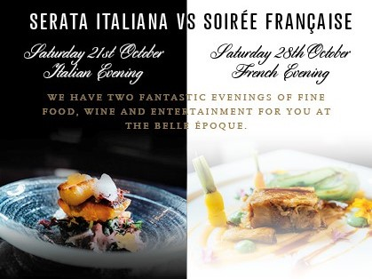 Italy vs France Food Event