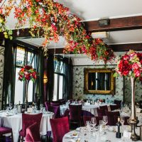 Our wedding breakfast room Knutsford